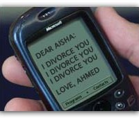 Will there be a Divorce through text message